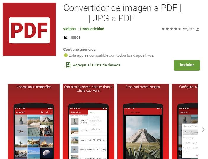 App Para Convertir Fotos A PDF En Android